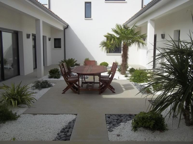 Cour intérieure Maison ERF créateur de maisons individuelles